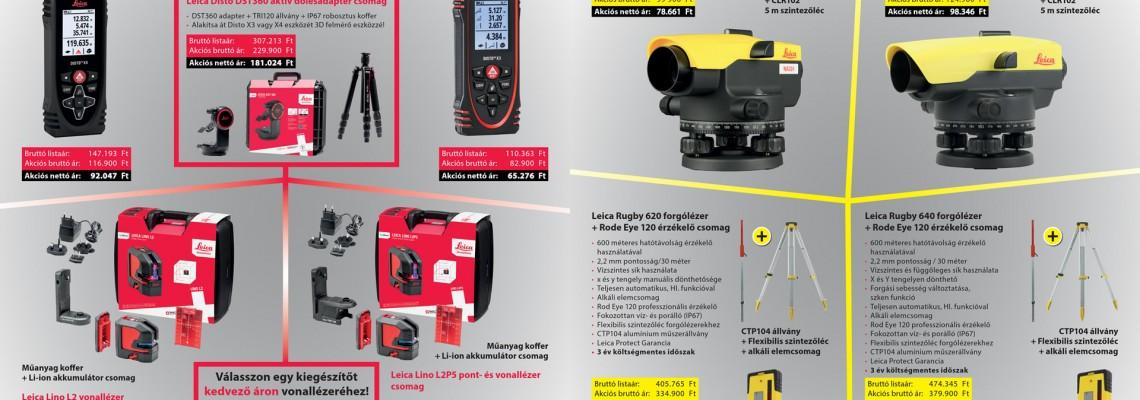 Leica akciós szórólap 2020 - Q4 akciós szórólap
