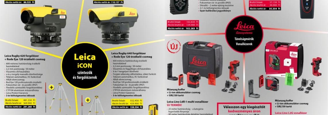 Leica akciós szórólap 2021 Q2