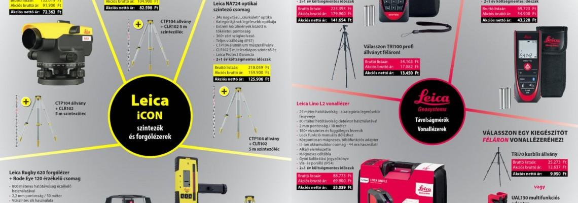 Leica akciós szórólap 2019 I.