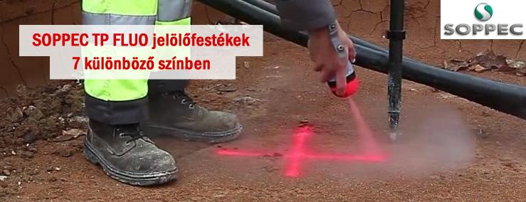 Soppec fluot Tp jelölőfestékek