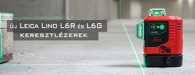 Leica Lino L6R és Lino L6G keresztlézer