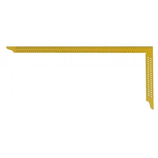 Ácsderékszög festett sárga 700 mm