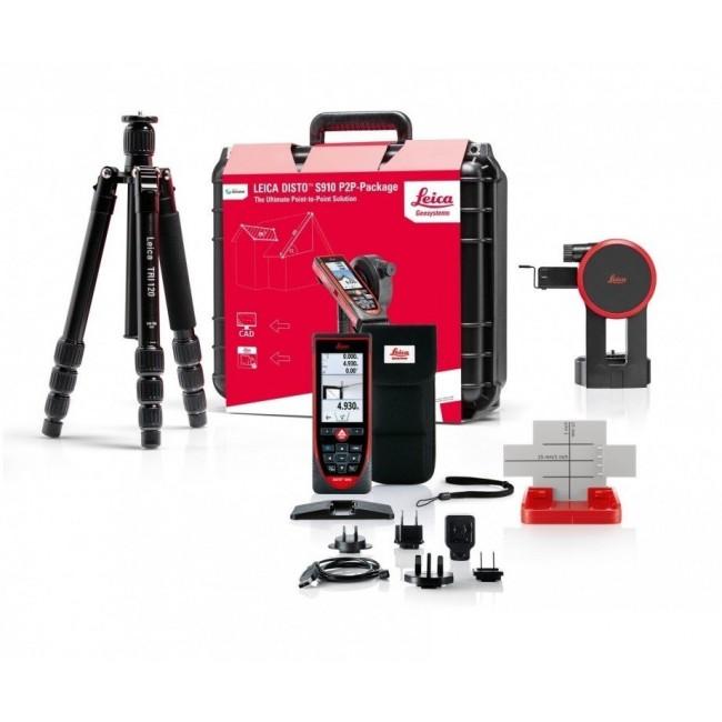 Leica Disto S910 távolságmérő csomagban Leica Disto távolságmérő 806677