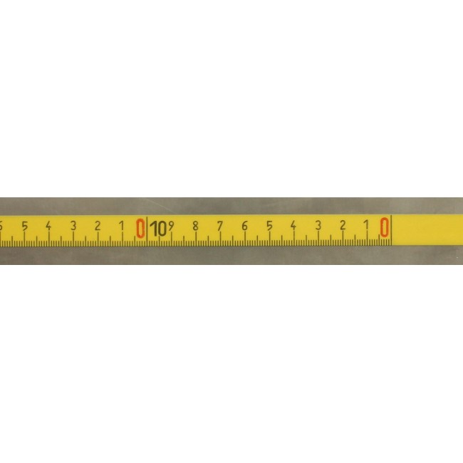 Öntapadós mérőszalag 20 m - fordított kiosztású Mérőszalag és öntapadós szalag X193