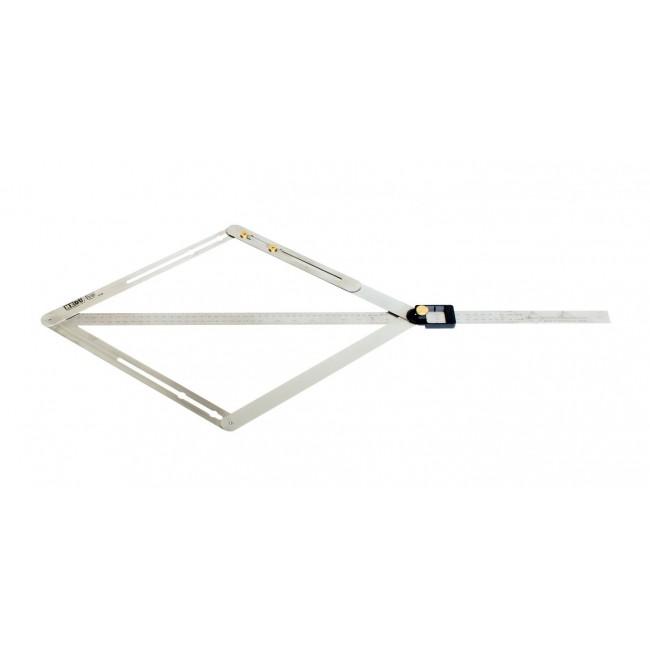 Profi szögmérő Szögmérő digitális és analóg W450