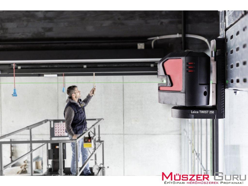 Leica Lino L2G keresztlézer ideális nagy távolságokhoz még világos helyen is