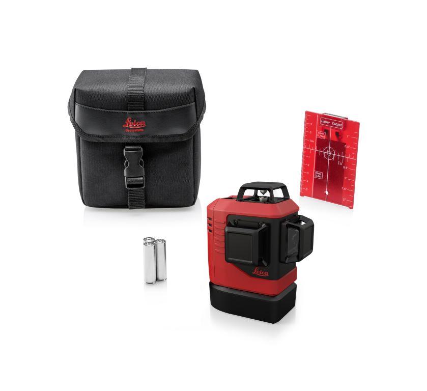 Lino L6R  piros keresztlézer csomag tartalma