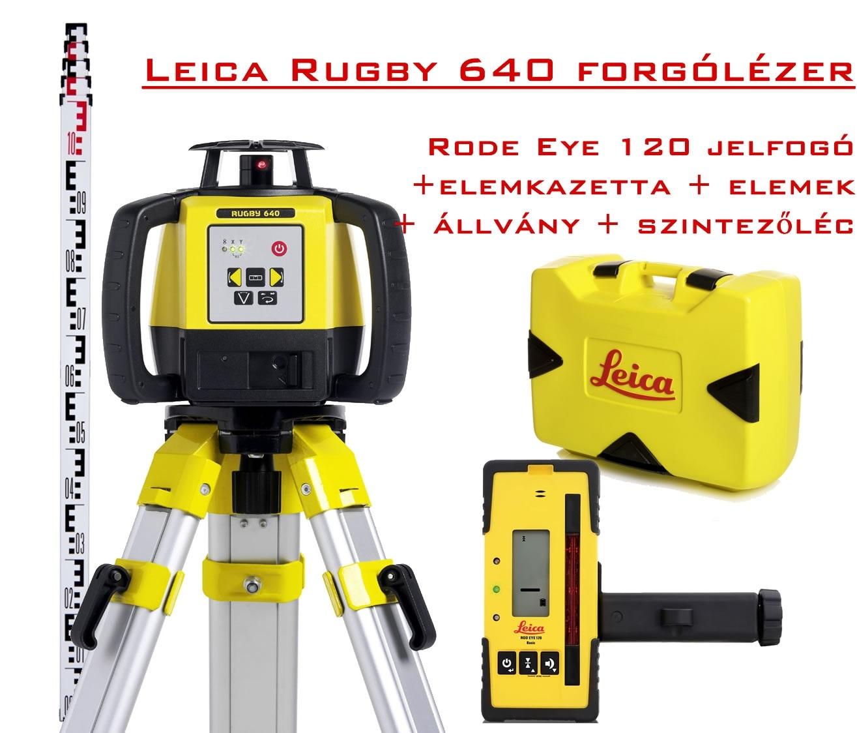 Leica forgólézer akció