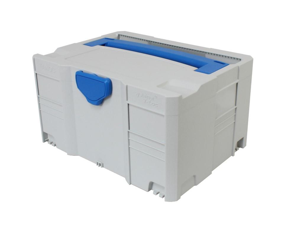 hedue R2 forgólézer Systainer kofferben