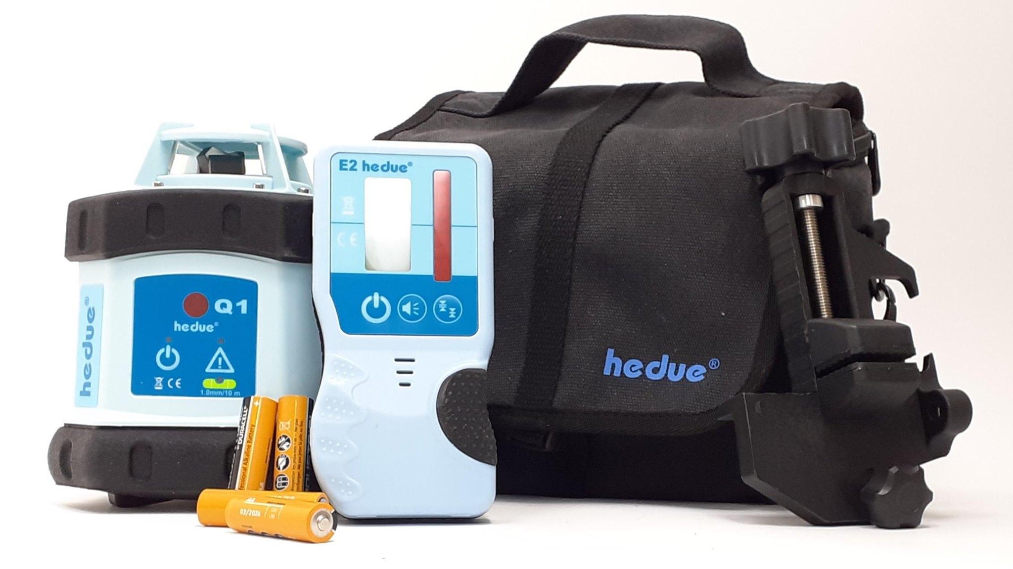 hedue Q1 forgólézer vízszintes szintkijelöléshez